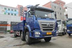 中国重汽 豪瀚J5G重卡 340马力 8X4 9.5米栏板载货车(ZZ1315N4663D1) 卡车图片