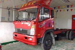 重汽王牌 7系中卡 160马力 4X2 5.8米载货车底盘(CDW1121HA1R4) 卡车图片