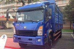 重汽王牌 7系中卡 180马力 4X2 5.8米仓栅式载货车(CDW1121HA1R4) 卡车图片