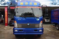 重汽王牌 7系 160马力 5.8米排半栏板轻卡(CDW1090A2R4) 卡车图片