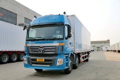 福田 欧曼ETX 6系重卡 245马力 6X2 9.5米厢式载货车(BJ5203XXY-2) 卡车图片
