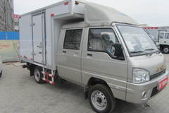 江淮 康铃X3 61马力 汽油/CNG 2.5米双排厢式微卡(HFC5020XXYRW6T1B7D) 卡车图片