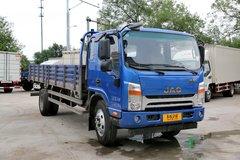 江淮 帅铃H中卡 154马力 4X2 6.2米排半栏板载货车(HFC1130P71K1D4V)图片