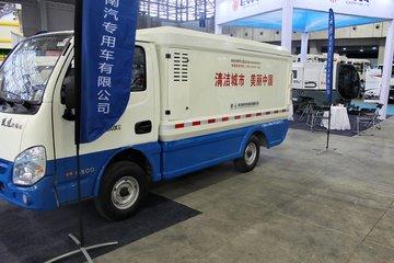 跃进 小福星 190马力 4X2 垃圾车(NJ5028XTYEV1)