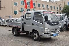 福田 奥铃捷运 82马力 2.7米双排栏板轻卡(BJ1049V9ADA-AA) 卡车图片
