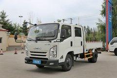 江铃 凯锐800 豪华版 120马力 3.2米双排栏板轻卡(JX1053TSGA23) 卡车图片