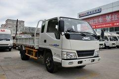 江铃 新顺达 109马力 3.8米排半栏板式轻卡(JX1041TPG24) 卡车图片