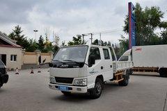 江铃 顺达 普通版 109马力 3.3米双排栏板轻卡(JX1041TSG24) 卡车图片