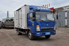 中国重汽HOWO 悍将 88马力 4.2米单排厢式轻卡(ZZ5047XXYC3414D143) 卡车图片