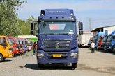 陕汽重卡 德龙新M3000 336马力 8X4 9.55米栏板载货车(SX1310GB456)