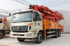 福田欧曼ETX 3系 185马力 4X2 混凝土泵车(BJ5133THB-XA)