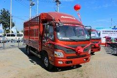 福田 欧马可3系 143马力 4.2米单排仓栅式轻卡(BJ5049CCY-A3) 卡车图片