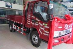 江淮 骏铃E6 130马力 3.8米排半栏板式轻卡(HFC1043P91K6C2) 卡车图片