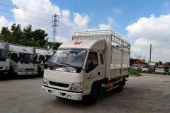 江铃 新凯运 109马力 3.8米排半仓栅式轻卡(JX5044CCYXPG2) 卡车图片