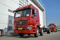 陕汽重卡 德龙新M3000 245马力 6X2 7.8米厢式载货车底盘(SX5256XXYGK549) 卡车图片
