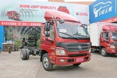 福田 欧马可3系 118马力 4.23米单排栏板轻卡(气刹)(BJ1049V9JD6-F5) 卡车图片