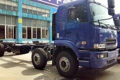 华菱之星 重卡 220马力 6X2 8.7米单排载货车底盘(HN5250XXYC24E8M4) 卡车图片