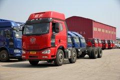 一汽解放 J6M重卡 320马力 8X4 9.5米栏板载货车底盘(CA1310P63K2L6T4E4) 卡车图片