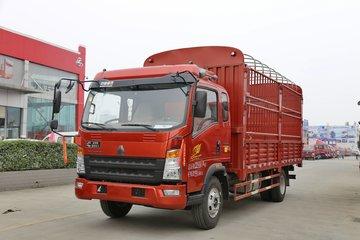 中国重汽HOWO 统帅 148马力 3.85米排半仓栅式轻卡(ZZ5047CCYF341CE143)