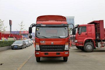 中国重汽HOWO 统帅 物流版 141马力 4.15米单排仓栅式轻卡(ZZ5087CCYF331CE183)