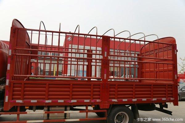 中国重汽HOWO 统帅 154马力 3.85米排半仓栅式轻卡((ZZ5047CCYF341CE143))