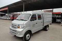 重汽王牌 W1系 1.8L 62马力 柴油 2.5米双排仓栅式微卡(CDW5030CCYS2M4) 卡车图片