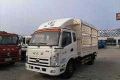 奥驰A2系列 102马力 4X2 3.8米排半仓栅轻卡(FD5045CCYW63K) 卡车图片