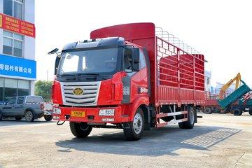 一汽柳特 金陆中卡 180马力 4X2 6.8米仓栅式载货车(LZT5160CCYPK2E5L3A95)