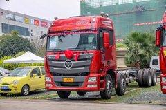 福田 欧曼GTL 6系重卡 超能版 350马力 8X4 9.5米载货车底盘(BJ5319CCY-XH) 卡车图片