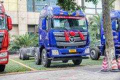 福田 欧曼GTL 9系重卡 山区型 400马力 8X4 9.5米载货车底盘(BJ5319CCY-XH) 卡车图片