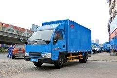 江铃 新顺达 109马力 4.22米单排厢式轻卡(蓝)(JX5044XXYXG2) 卡车图片