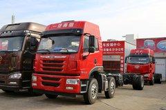 青岛解放 悍V重卡 220马力 6X2 载货车底盘(CA5250CCYP1K2L7T3E4A80-1) 卡车图片