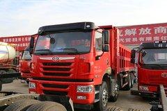 青岛解放 悍V重卡 270马力 8X4 7米自卸车(CA3310P1K2L3T4E4A80) 卡车图片
