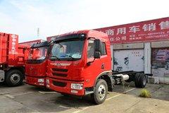 青岛解放 龙V中卡 164马力 4X2 载货车底盘(CA5080CCYPK2E4A80-1) 卡车图片