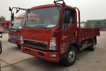 中国重汽HOWO 悍将 129马力 4.15米自卸车(ZZ3047G3415E143)