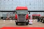江淮 格尔发A5X重卡 245马力 6X2 9.5米仓栅式载货车(HFC5251CCYP2K3D54S3V)