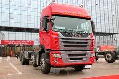江淮 格尔发K3W重卡 280马力 8X4载货车底盘(双提升)(HFC1311P1K4G44S2V) 卡车图片