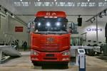 一汽解放 J6M重卡 280马力 6X2 9.5米仓栅式载货车(CA5250CCYP63K1L6T3E5)图片
