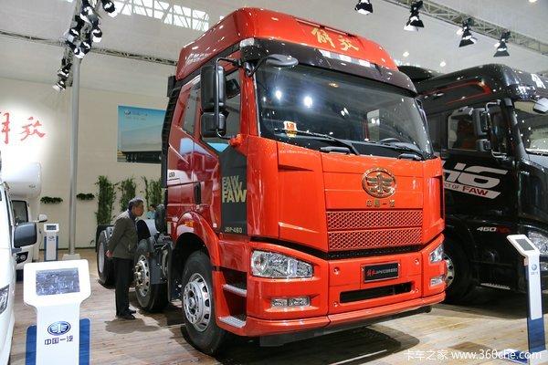 一汽解放 J6P重卡 420马力 6X2牵引车