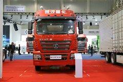 陕汽重卡 新德龙M3000 轻量化版 400马力 6X4 LNG牵引车(SX4258GR384TL)