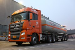福田 欧曼GTL 6系重卡 超能版 430马力 6X4牵引车(危险品运输)(BJ4259SNFKB-XL) 卡车图片