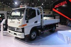 江淮 骏铃V6 160马力 3.9米排半栏板轻卡 卡车图片