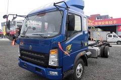 中国重汽HOWO 统帅 154马力 4500轴距轻卡底盘(ZZ1127G451CD1) 卡车图片