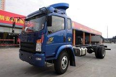 中国重汽HOWO 统帅中卡 168马力 4X2 4700轴距载货车底盘(ZZ1167G471CD1) 卡车图片