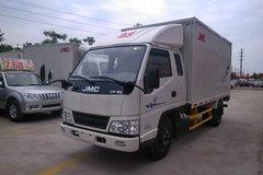 江铃 新顺达 116马力 3.3米排半厢式轻卡(JX5044XXYXPCH2)