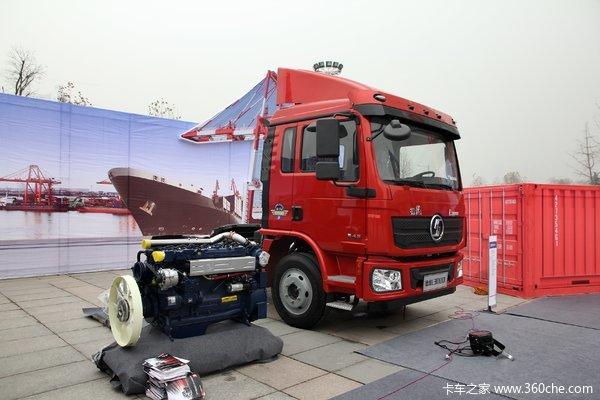 陕汽重卡 德龙L3000 空柜版 185马力 4X2牵引车(SX4130LA1)