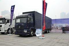 陕汽重卡 德龙新M3000 轻量化版 270马力 6X2厢式载货车(SX5208XXYML703)