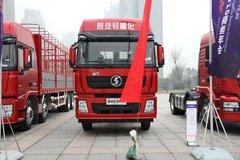 陕汽重卡 德龙X3000 336马力 8X4 9.5米仓栅式载货车(SX5316CCY4V456)