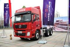 陕汽康明斯 德龙新X3000 轻量化版 420马力 6X4 危险品牵引车(SX42584V324C) 卡车图片