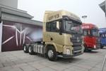 陕汽重卡 德龙X3000 轻量化版 530马力 6X4牵引车(SX42584Y324)